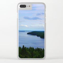 Summer Finnish Lakeland Clear iPhone Case
