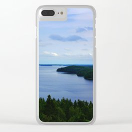Summer Finnish Lakeland Clear iPhone Case