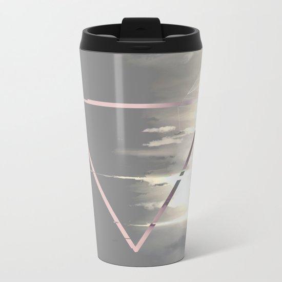Pour Down Metal Travel Mug