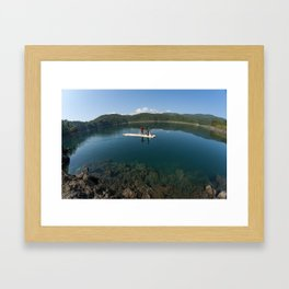 Laguna Maxbal Framed Art Print