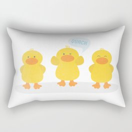 DuckFace  Rectangular Pillow