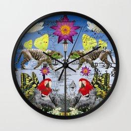 ANIMAL MIX : REFLECTIONS Wall Clock