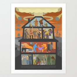 Party Like It's 19XX Art Print