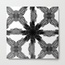 Will you end up believing all those gridlock lies? Metal Print