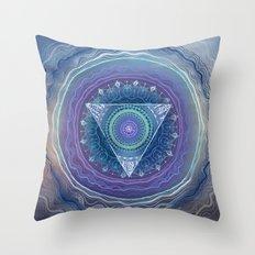 Ajna Third Eye Chakra Throw Pillow