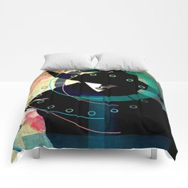 Mrs. Black Comforters
