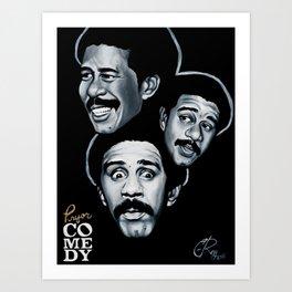 Pryor Comedy Art Print