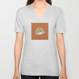 Hedgehog Sprinkles Unisex V-Neck