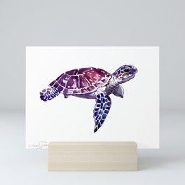 Sea Turtle  wall art Mini Art Print
