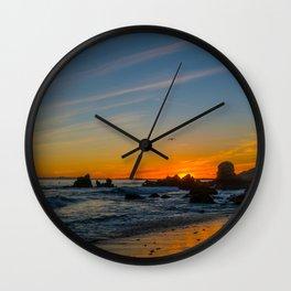 Little Corona Sunset Wall Clock