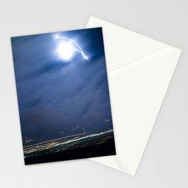 Moon Jump Sky Stationery Cards