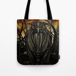 Mechanical Owl Tote Bag