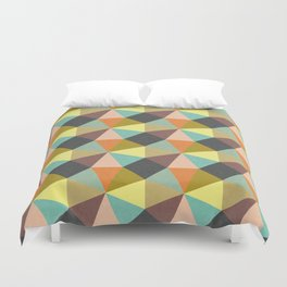 Simply Symmetry Duvet Cover