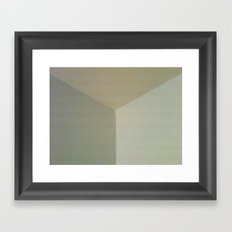 soft corner Framed Art Print