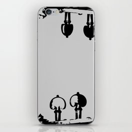 Violin Background iPhone Skin