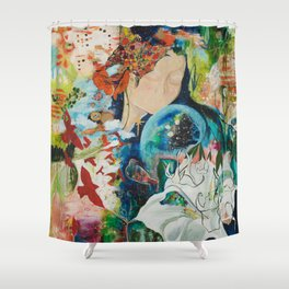 YOU ARE NOT ALONE Shower Curtain