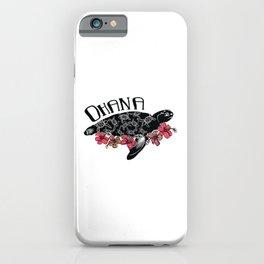 Hawaiian Ohana Turtle iPhone Case