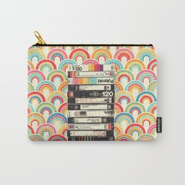 VHS & Rainbows Carry-All Pouch