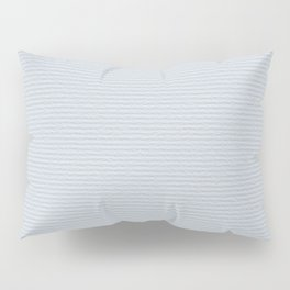 Light Blue Cold Pressed Watercolour Paper Texture Pillow Sham
