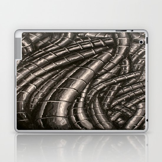 metal cables Laptop & iPad Skin