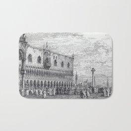 Canaletto La Piera del Bando. V Bath Mat