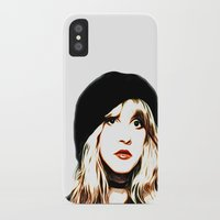 stevie nicks iPhone & iPod Cases featuring Stevie Nicks - Rhiannon - Pop Art by William Cuccio aka WCSmack