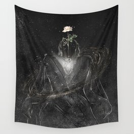 The pure heart. Wall Tapestry