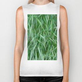 Wispy Grass Biker Tank
