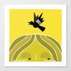 Paul & Blackbird Canvas Print