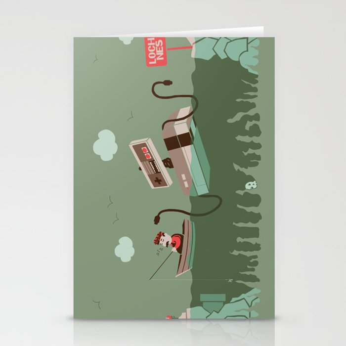 Loch NES V.2 Stationery Cards
