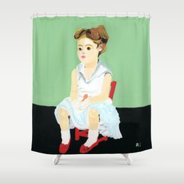 Song of ice cream Shower Curtain