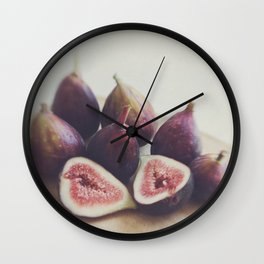 A Little Figgy Wall Clock
