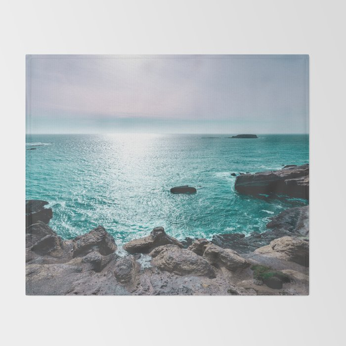 Turquoise Cove Throw Blanket