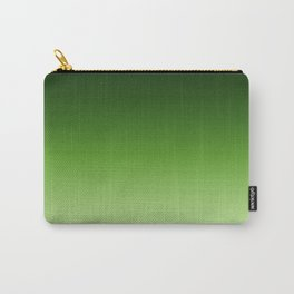 Green. Ombre . Carry-All Pouch