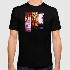 Mass Effect SMALL Black Mens Fitted Tee