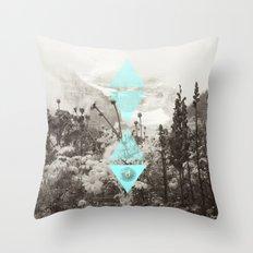 Mountain Breeze Throw Pillow