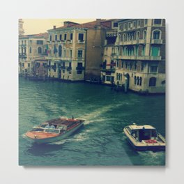 Venice, Grand Canal 3 Metal Print