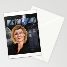 13th Doctor poster Stationery Cards