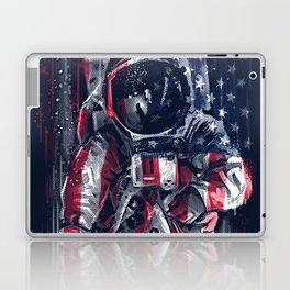 Astronaut Flag Laptop & iPad Skin