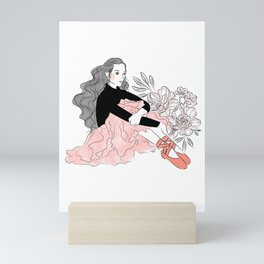 Lovely ballerina Mini Art Print