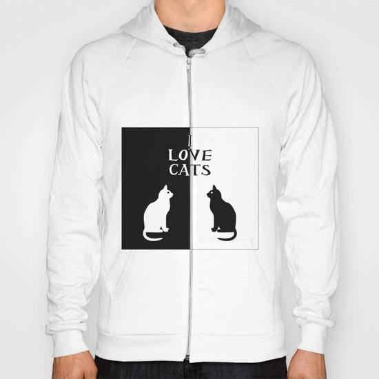 OPPOSITES LOVE: CATS Hoody