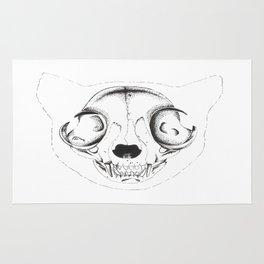 Skull Cat Rug