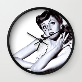 Pretty Vintage and Retro PinUp Wall Clock
