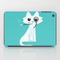 budi iPad Cases featuring Mark - Aristo-Cat by Picomodi