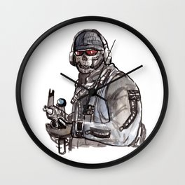 Ghost Riley Wall Clock
