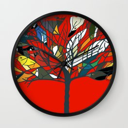 18 Birds in My Tree and more! Wall Clock
