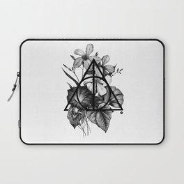 black flowers Laptop Sleeve