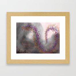 Smoke of War Framed Art Print