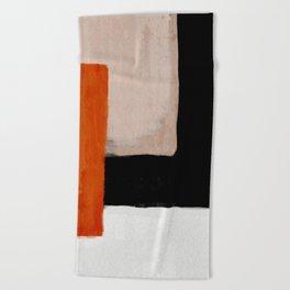abstract minimal 14 Beach Towel