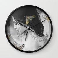 renaissance Wall Clocks featuring Renaissance by Nicolas Jamonneau